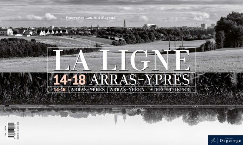 Couverture du livre LA LIGNE par les Editions Degeorge, côté Laurent Mayeux.