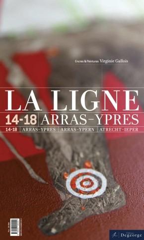Couverture du livre LA LIGNE par les Editions Degeorge, côté Virginie Gallois.