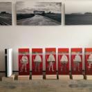 La Ligne à Roubaix dans l'atelier de Virginie Gallois, journées portes ouvertes des ateliers d'artistes, Octobre 2015