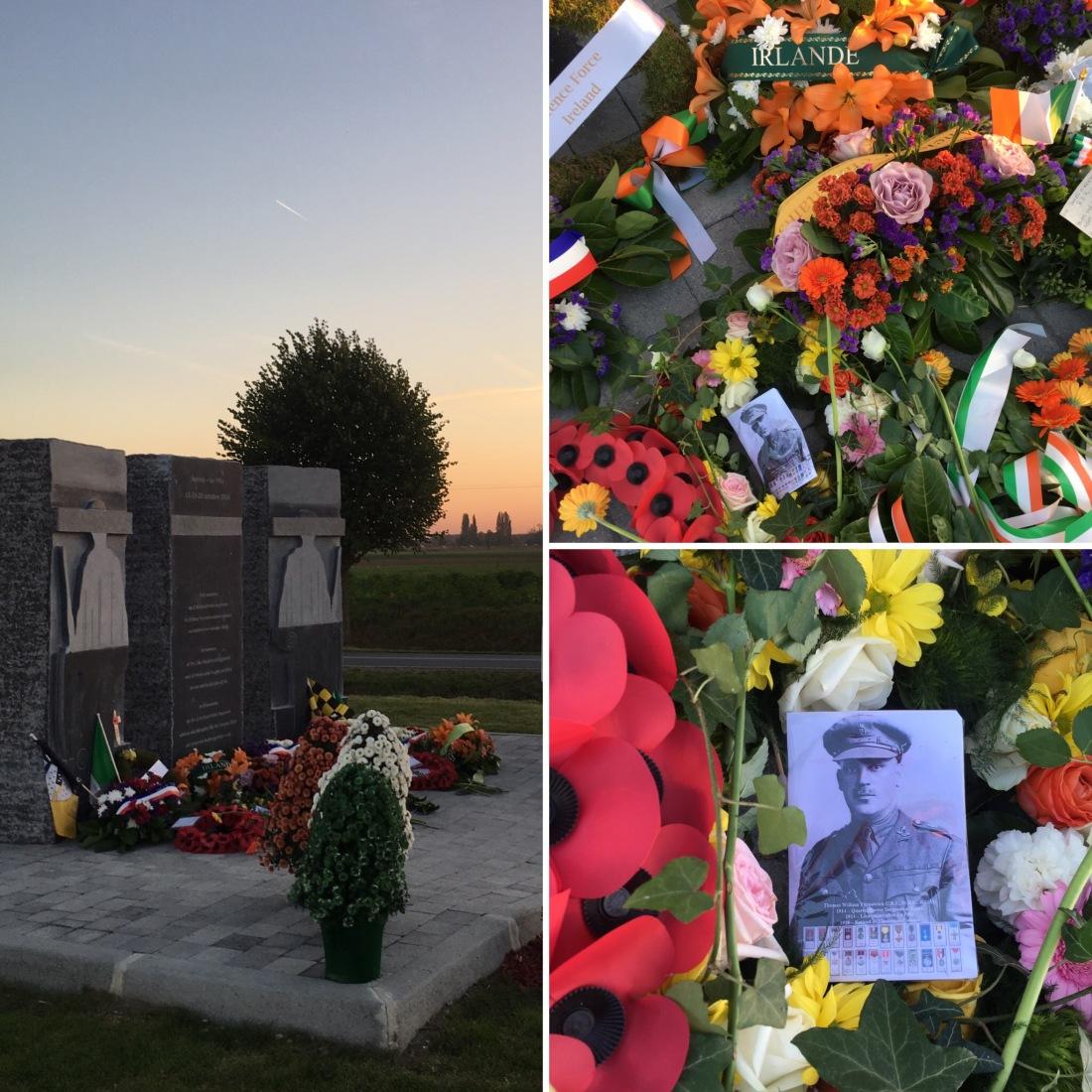 Commemoration La ligne 20 Octobre 2018 Herlies